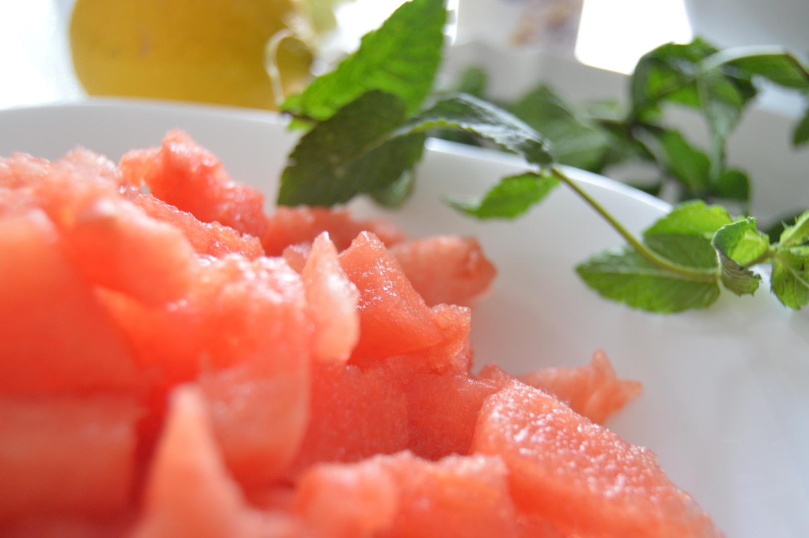 Melonensuppe 4