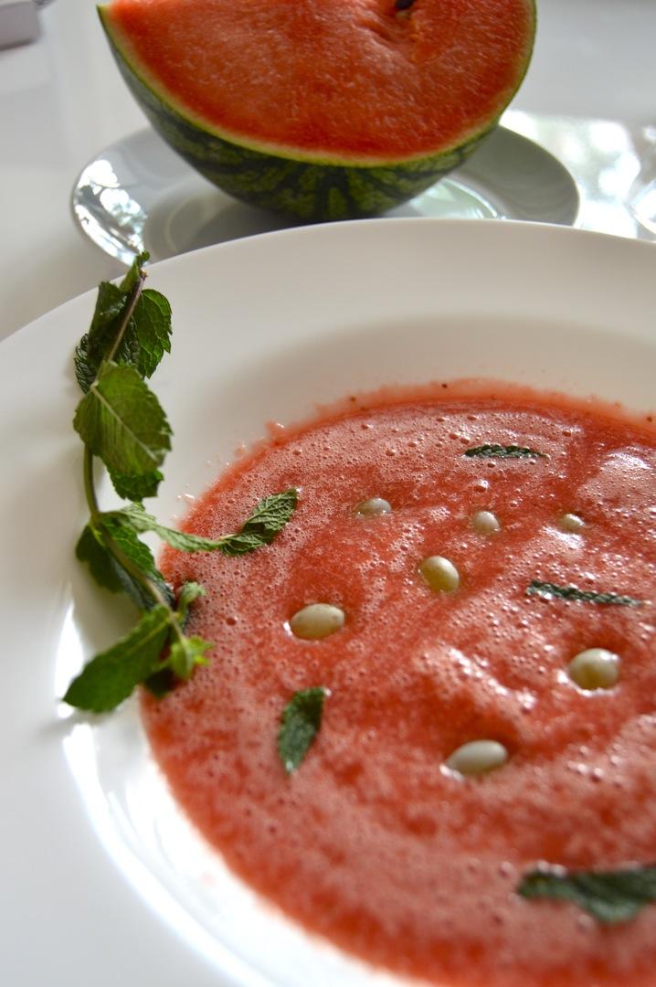 Melonensuppe 8