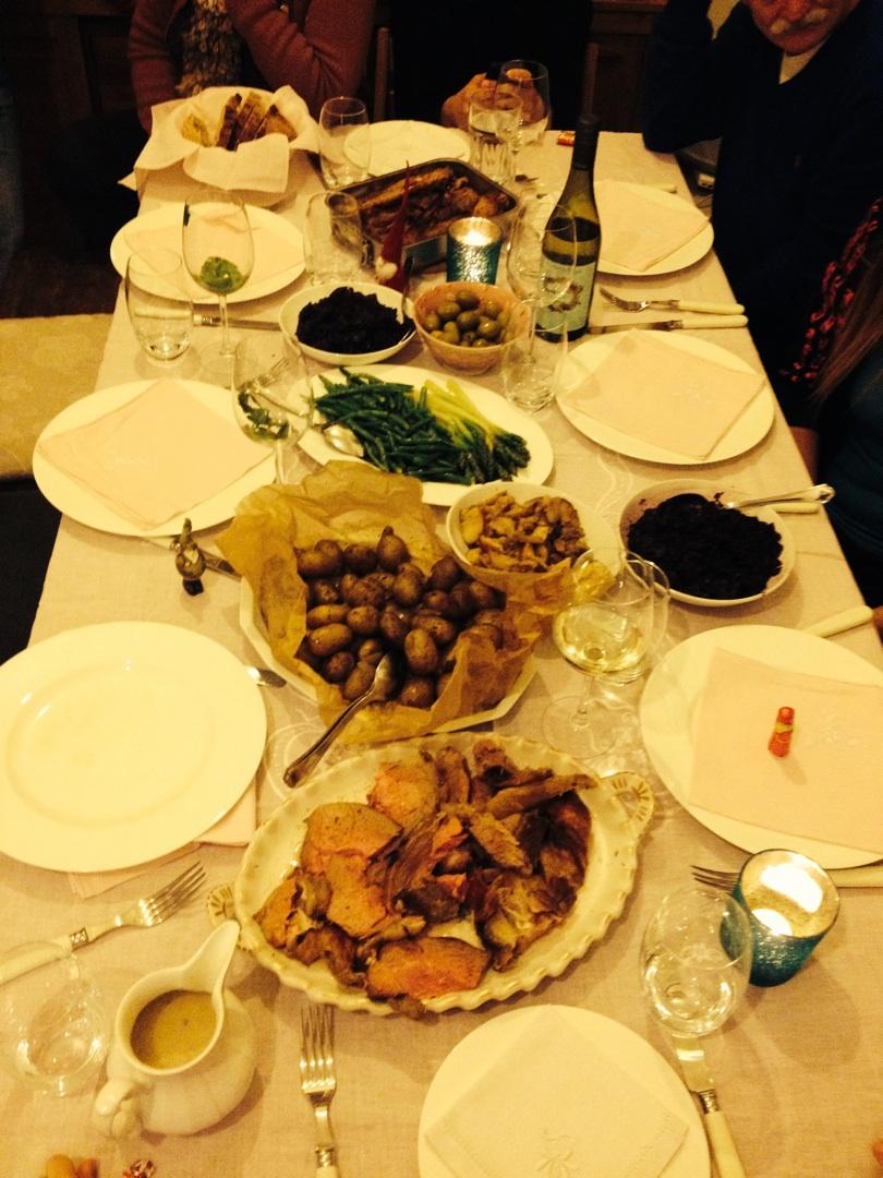 Tausche Weihnachtsgans gegen Weihnachtslamm. Resteessen mit den Liebsten!